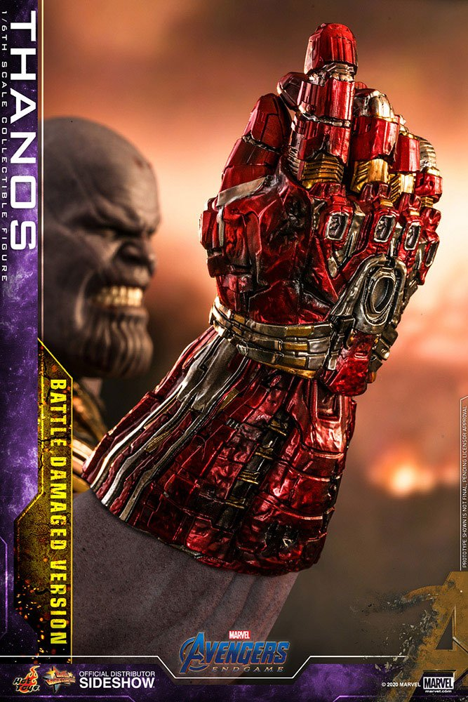 Figurine Avengers Endgame Movie Masterpiece Thanos Battle Damaged Version 42cm 1001 Figurines (14)