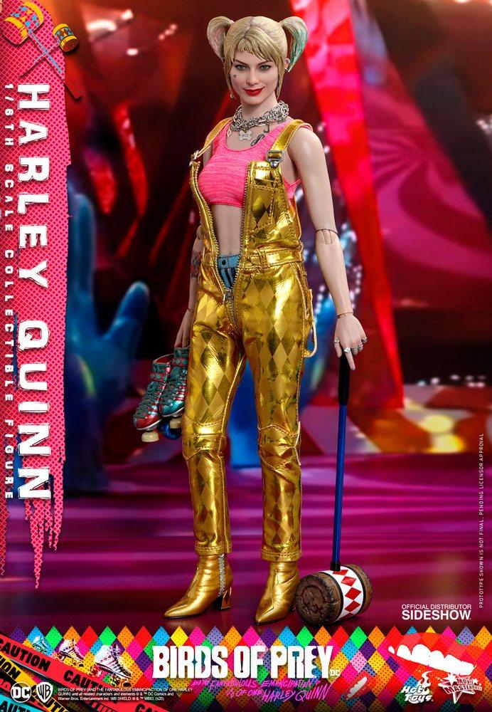 Figurine Birds of Prey Hot Toys Movie Masterpiece Harley Quinn 29cm 1001 Figurines (1)
