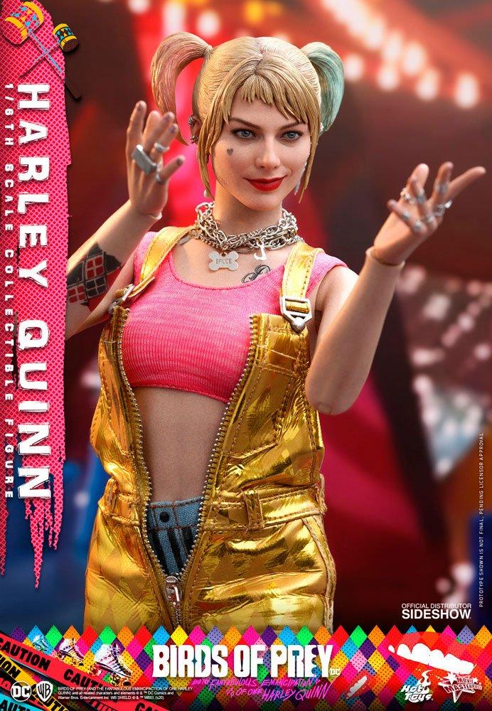 Figurine Birds of Prey Hot Toys Movie Masterpiece Harley Quinn 29cm 1001 Figurines (6)