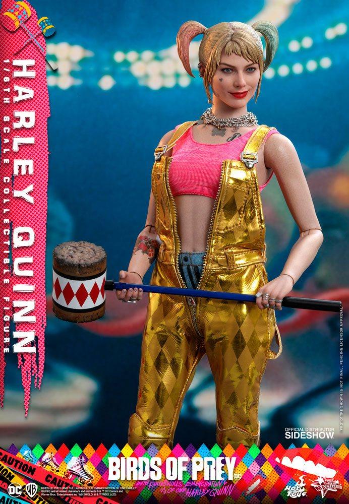 Figurine Birds of Prey Hot Toys Movie Masterpiece Harley Quinn 29cm 1001 Figurines (5)