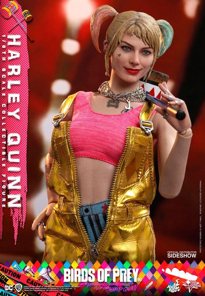 Figurine Birds of Prey Hot Toys Movie Masterpiece Harley Quinn 29cm 1001 Figurines (7)