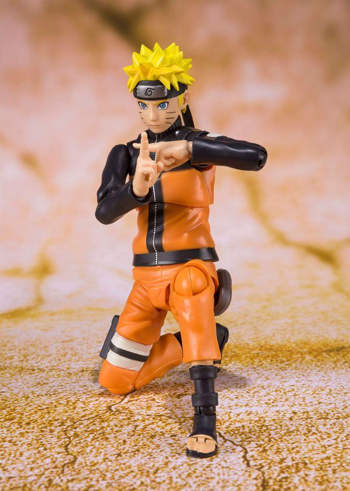 Figurine Naruto Shippuden S.H. Figuarts Naruto Uzumaki Best Selection 14cm 1001 Figurines (2)