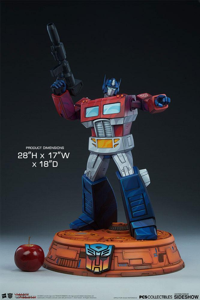 Statue Transformers Museum Scale Optimus Prime G1 - 71cm 1001 Figurines (2)