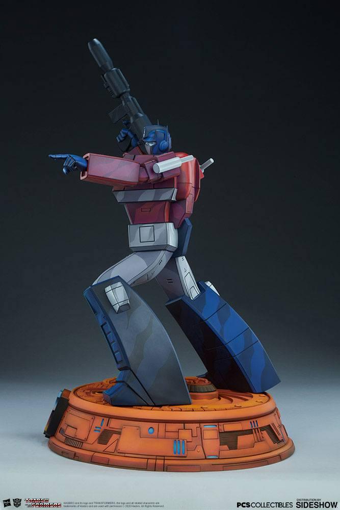 Statue Transformers Museum Scale Optimus Prime G1 - 71cm 1001 Figurines (3)
