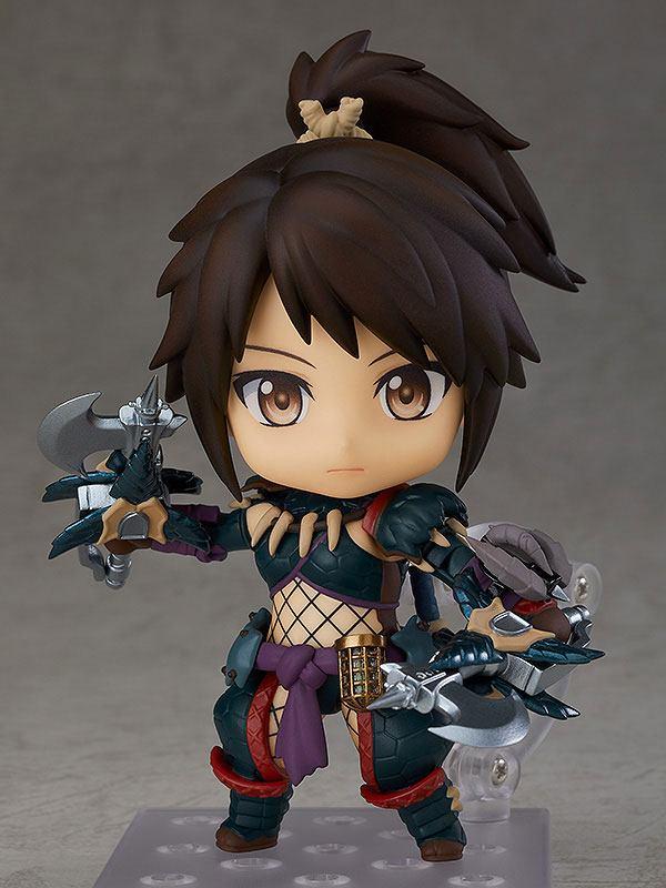 Figurine Nendoroid Monster Hunter World Iceborne Female Nargacuga Alpha Armor Ver. DX 10cm 1001 Figurines (2)