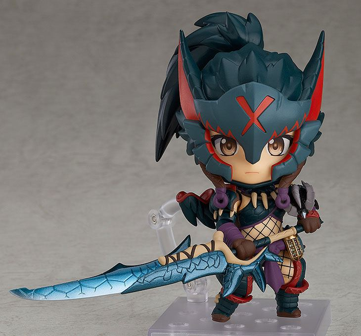 Figurine Nendoroid Monster Hunter World Iceborne Female Nargacuga Alpha Armor Ver. DX 10cm 1001 Figurines (6)
