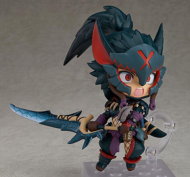 Figurine Nendoroid Monster Hunter World Iceborne Female Nargacuga Alpha Armor Ver. DX 10cm 1001 Figurines (7)