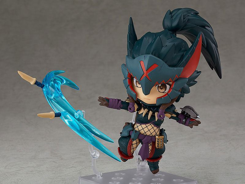 Figurine Nendoroid Monster Hunter World Iceborne Female Nargacuga Alpha Armor Ver. DX 10cm 1001 Figurines (8)