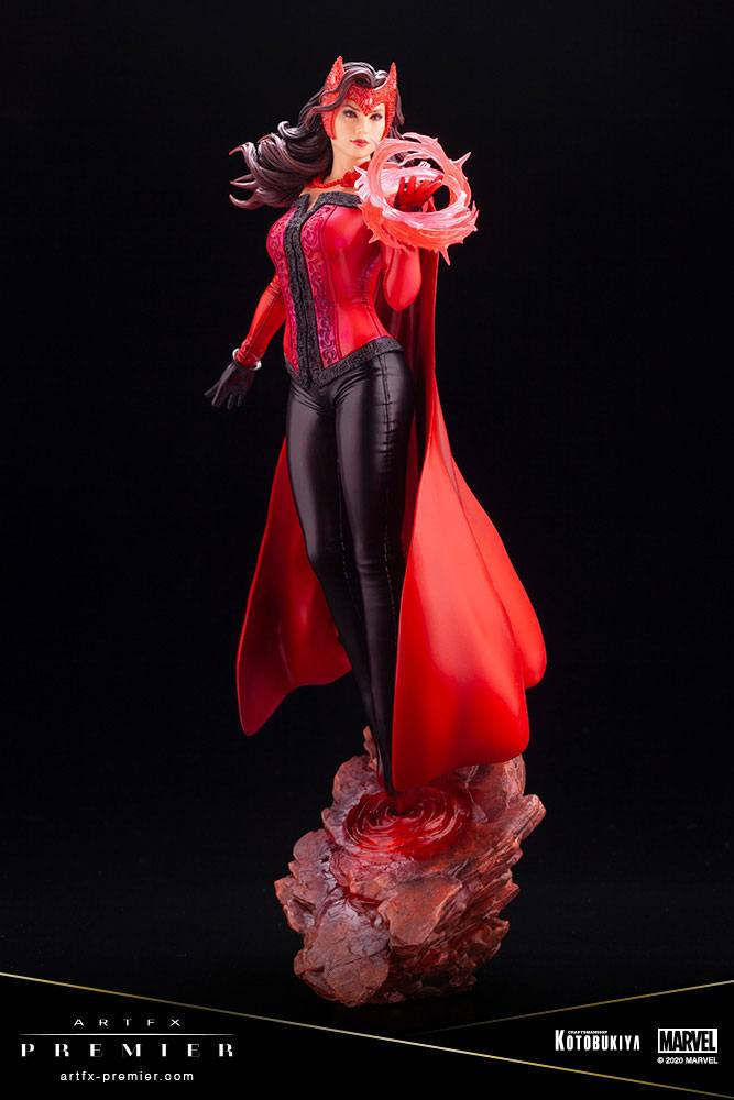 Statuette Marvel Universe ARTFX Premier Scarlet Witch 26cm 1001 figurines (2)