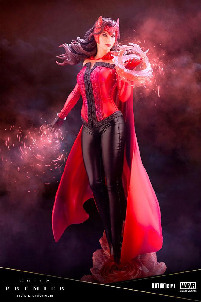Statuette Marvel Universe ARTFX Premier Scarlet Witch 26cm 1001 figurines (1)