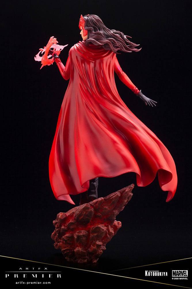 Statuette Marvel Universe ARTFX Premier Scarlet Witch 26cm 1001 figurines (4)