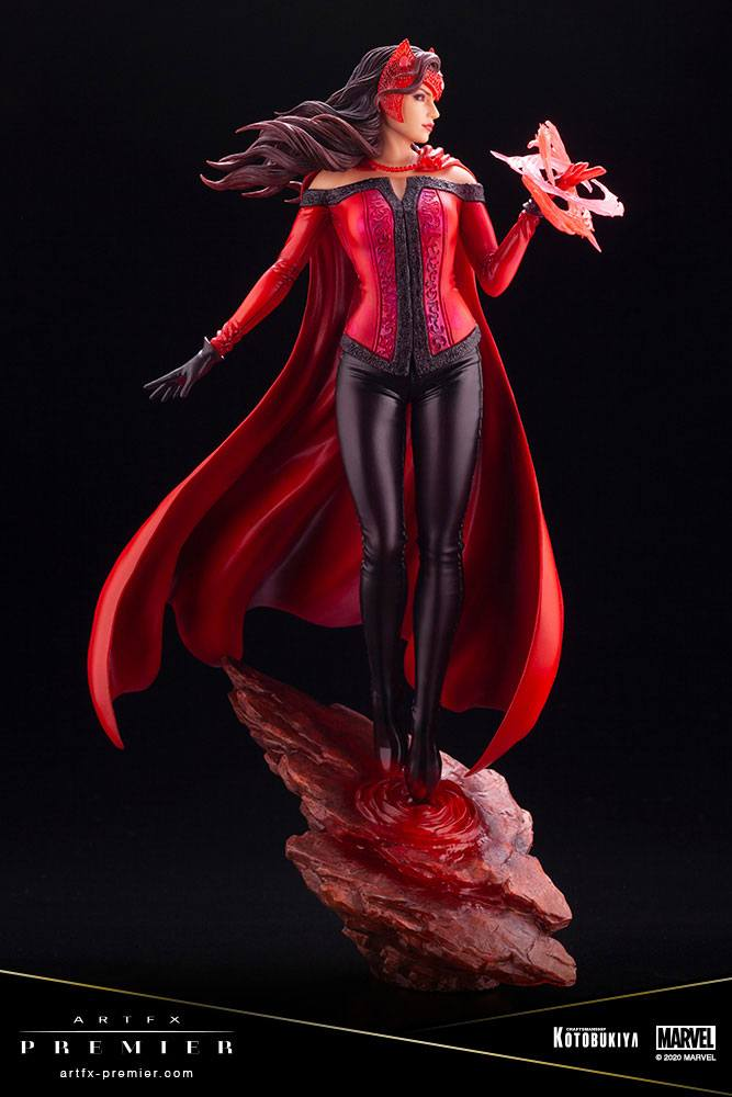 Statuette Marvel Universe ARTFX Premier Scarlet Witch 26cm 1001 figurines (7)