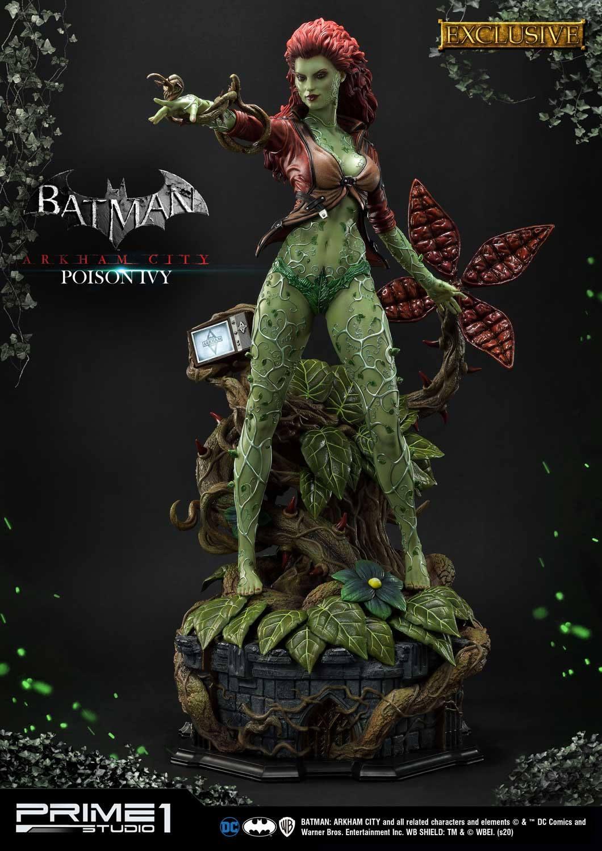 Statue Batman Arkham City Poison Ivy Exclusive 80cm
