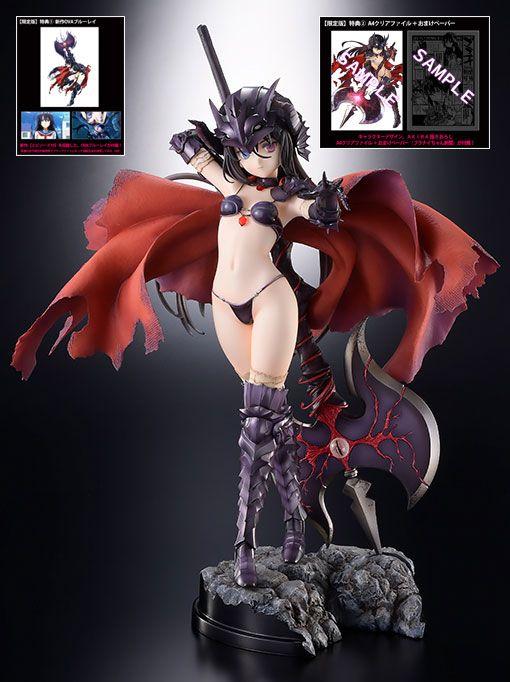 Statuette Bikini Warriors Black Knight Limited Version 27cm 1001 figurines (1)