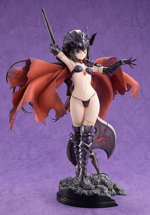 Statuette Bikini Warriors Black Knight Limited Version 27cm 1001 figurines (4)