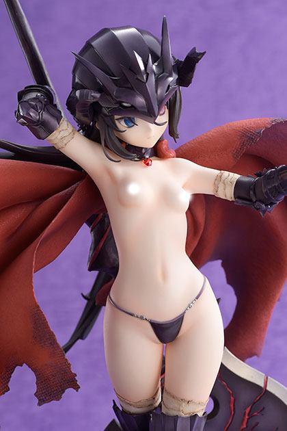 Statuette Bikini Warriors Black Knight Limited Version 27cm 1001 figurines (10)
