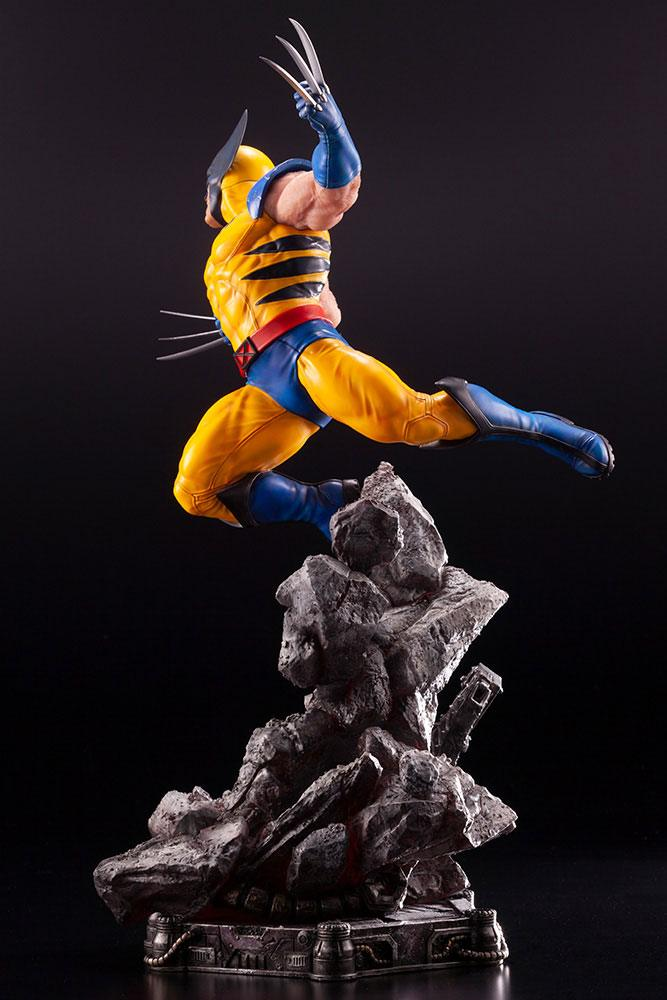 Statuette Marvel Comics Fine Art Wolverine 40cm 1001 figurines 1 (5)