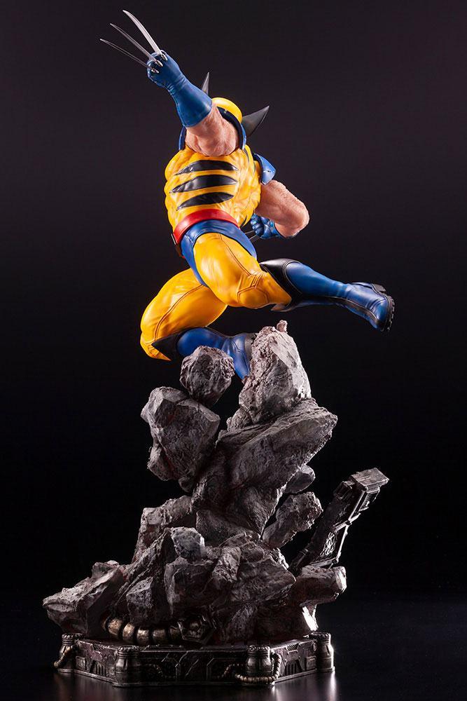 Statuette Marvel Comics Fine Art Wolverine 40cm 1001 figurines 1 (6)