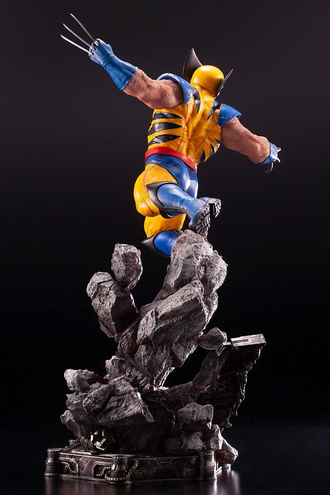 Statuette Marvel Comics Fine Art Wolverine 40cm 1001 figurines 1 (7)