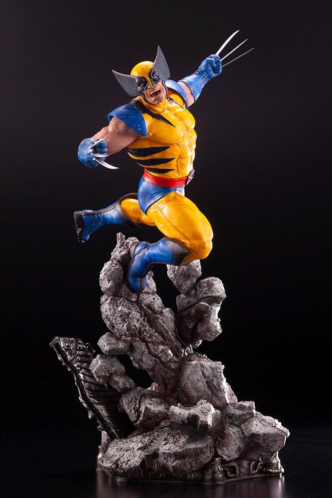 Statuette Marvel Comics Fine Art Wolverine 40cm 1001 figurines 1 (10)
