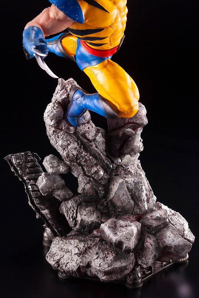 Statuette Marvel Comics Fine Art Wolverine 40cm 1001 figurines 1 (11)