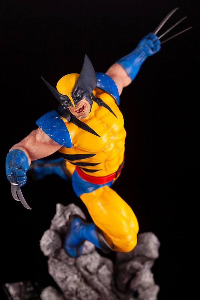 Statuette Marvel Comics Fine Art Wolverine 40cm 1001 figurines 1 (19)