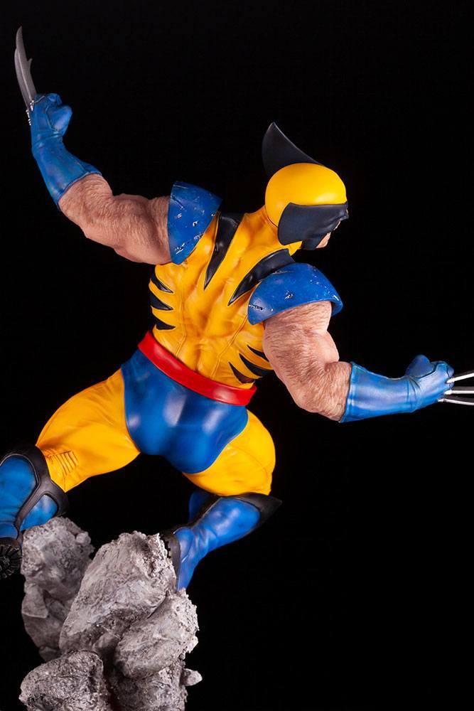 Statuette Marvel Comics Fine Art Wolverine 40cm 1001 figurines 1 (20)