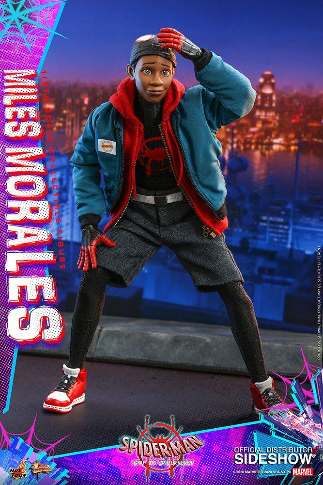 Figurine Spider-Man New Generation Movie Masterpiece Miles Morales 29cm 1001 Figurines (2)