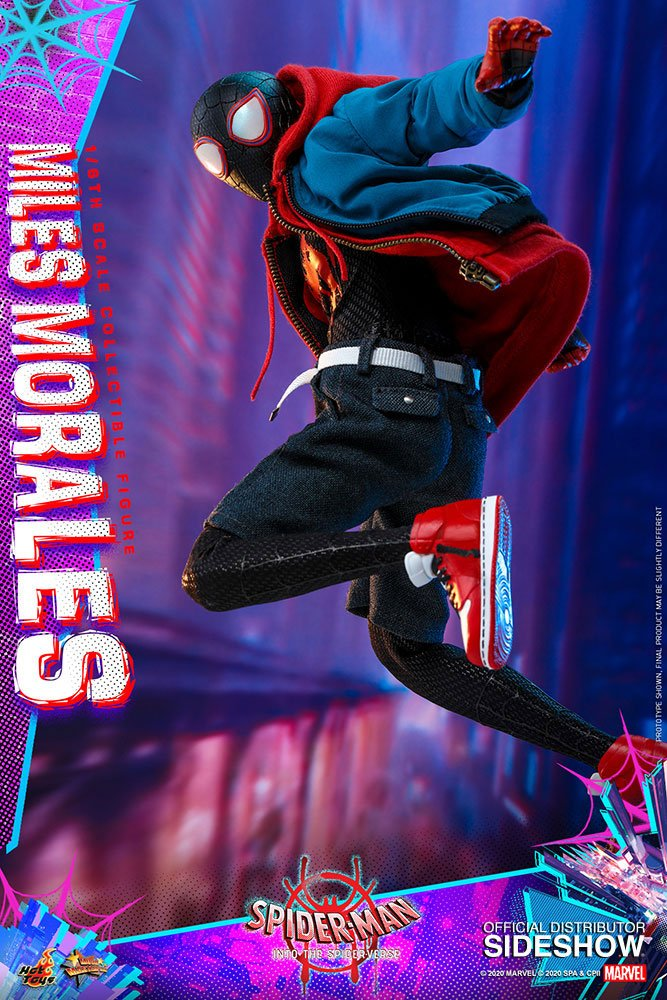 Figurine Spider-Man New Generation Movie Masterpiece Miles Morales 29cm 1001 Figurines (3)