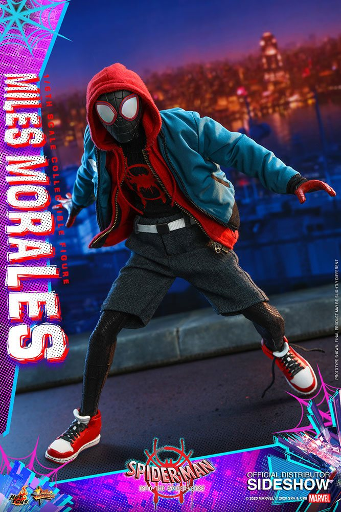 Figurine Spider-Man New Generation Movie Masterpiece Miles Morales 29cm 1001 Figurines (6)