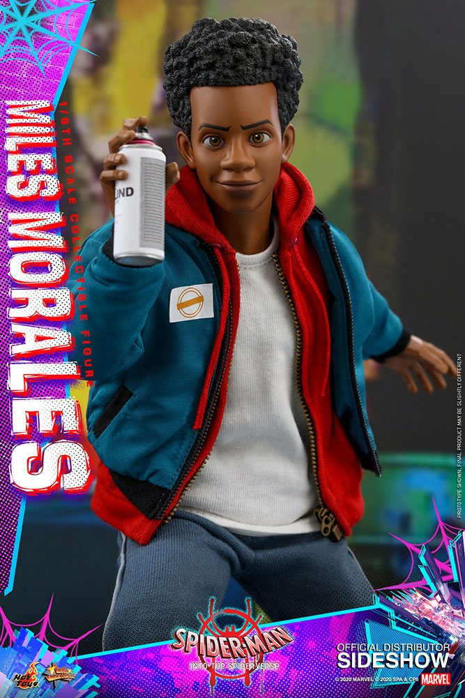 Figurine Spider-Man New Generation Movie Masterpiece Miles Morales 29cm 1001 Figurines (10)