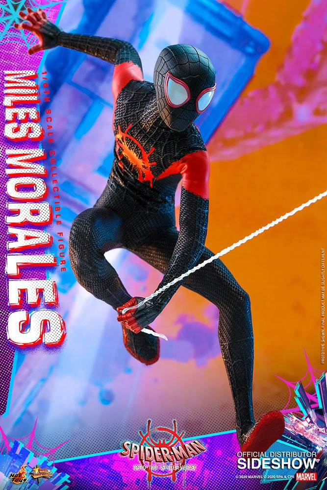 Figurine Spider-Man New Generation Movie Masterpiece Miles Morales 29cm 1001 Figurines (9)