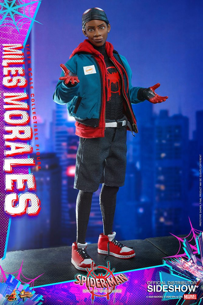 Figurine Spider-Man New Generation Movie Masterpiece Miles Morales 29cm 1001 Figurines (13)