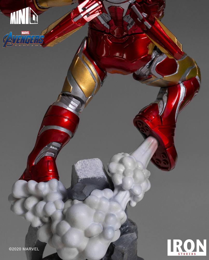 Figurine Avengers Endgame Mini Co. Iron Man 20cm 1001 figurines (6)