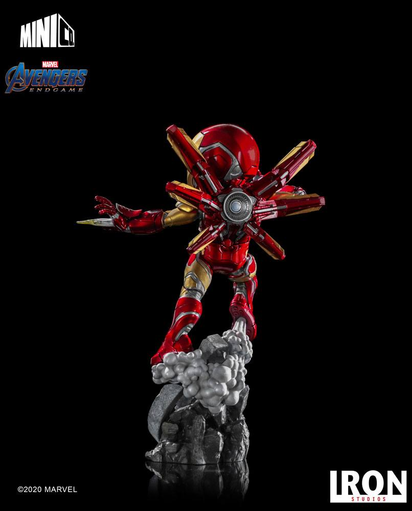 Figurine Avengers Endgame Mini Co. Iron Man 20cm 1001 figurines (14)