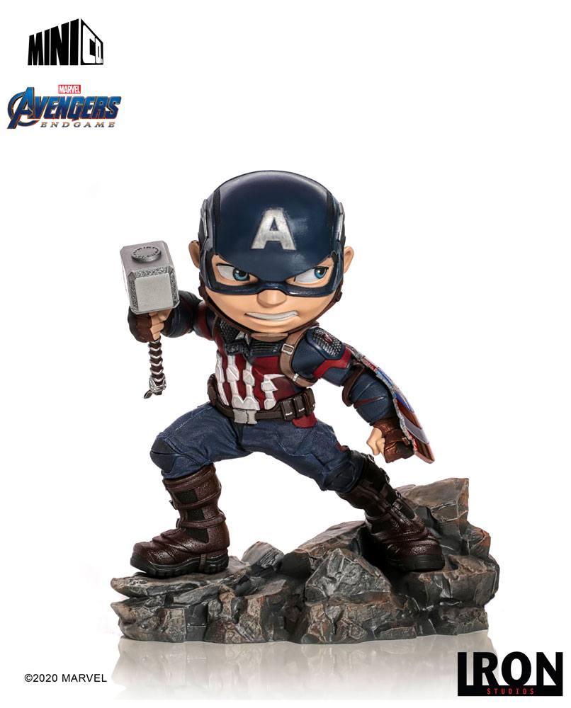 Figurine Avengers Endgame Mini Co. Captain America 15cm 1001 Figuirnes (1)