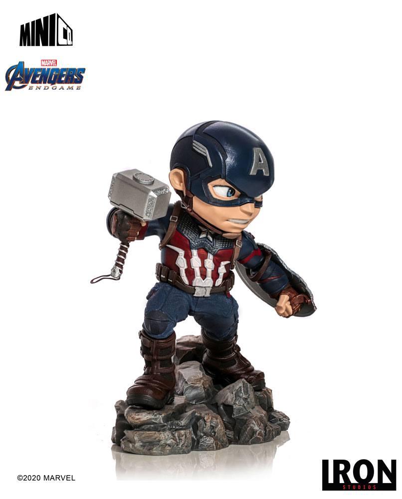 Figurine Avengers Endgame Mini Co. Captain America 15cm 1001 Figuirnes (2)