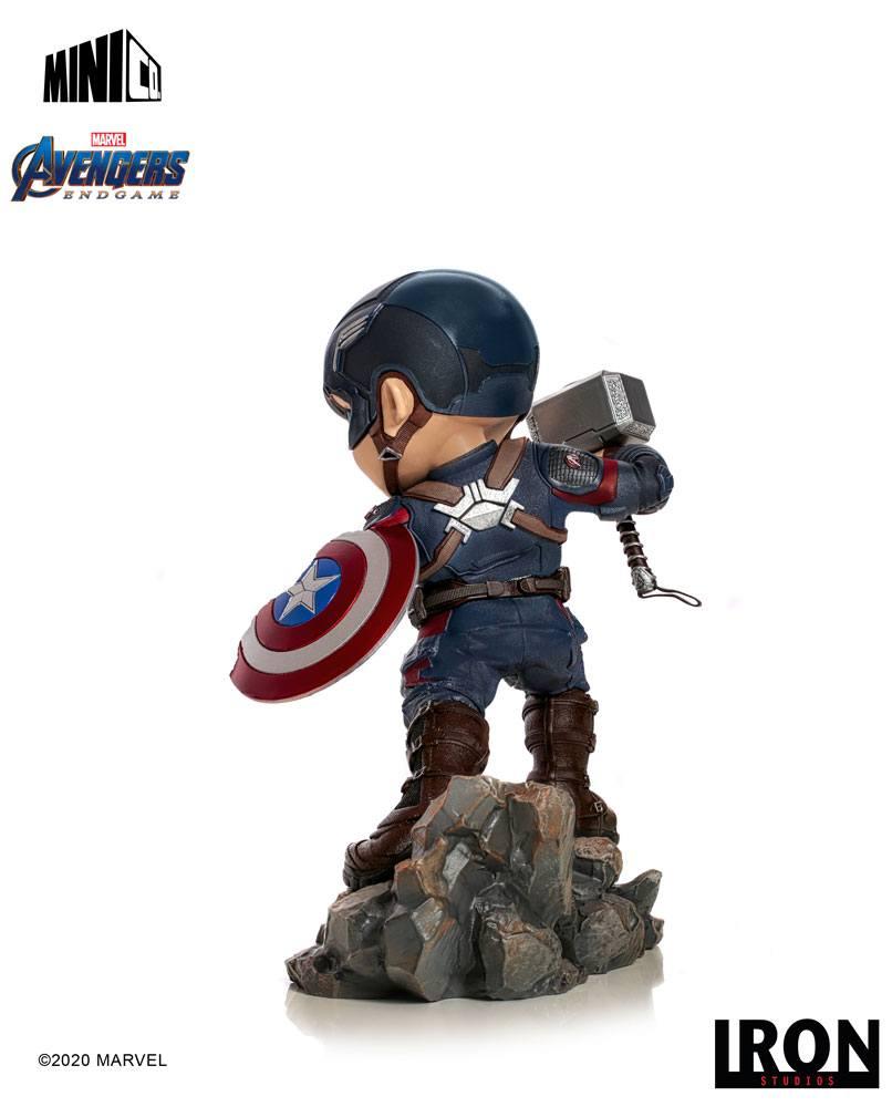 Figurine Avengers Endgame Mini Co. Captain America 15cm 1001 Figuirnes (4)