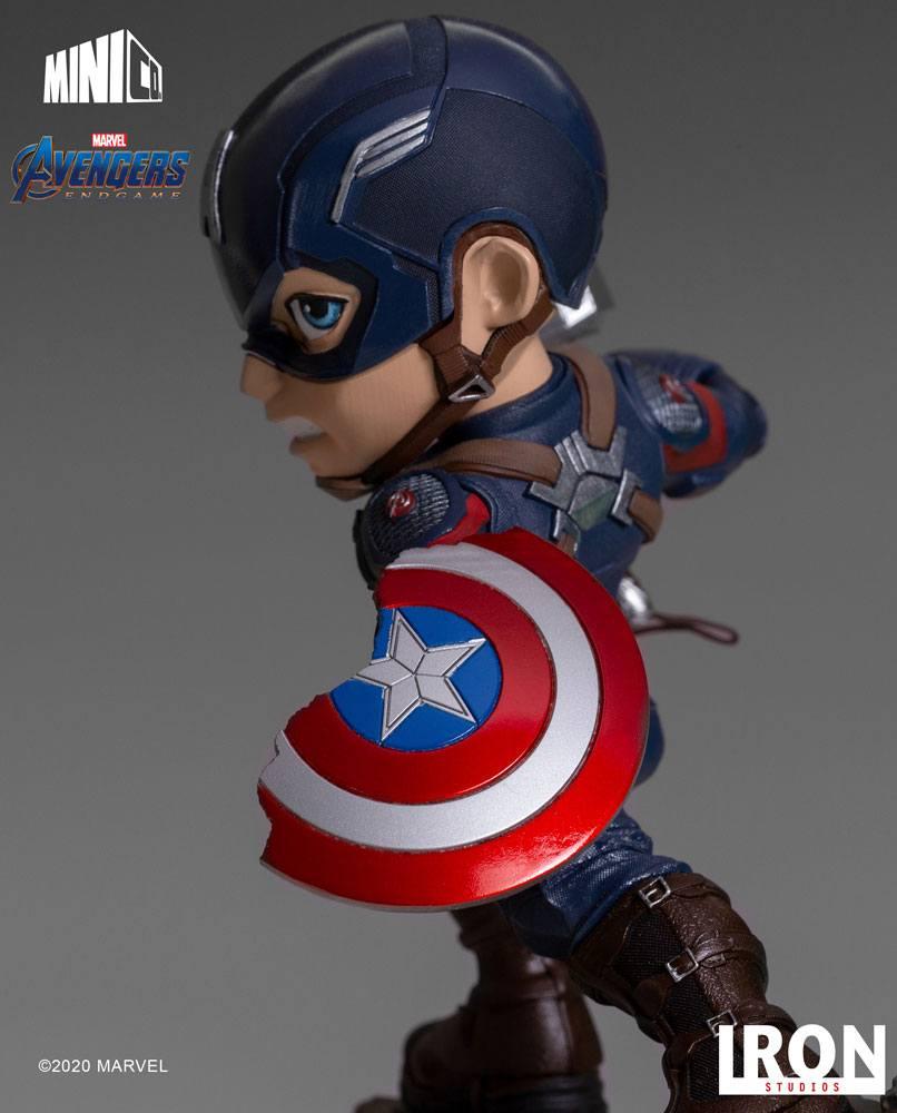 Figurine Avengers Endgame Mini Co. Captain America 15cm 1001 Figuirnes (8)