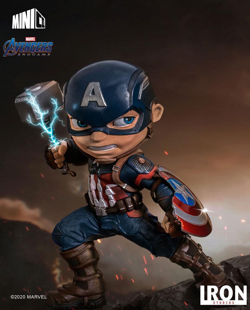 Figurine Avengers Endgame Mini Co. Captain America 15cm 1001 Figuirnes (15)