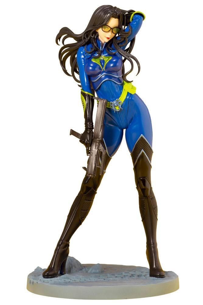 Statuette G.I. Joe Bishoujo Baroness 25th Anniversary Blue Color Ver. 23cm 1001 Figurines (1)