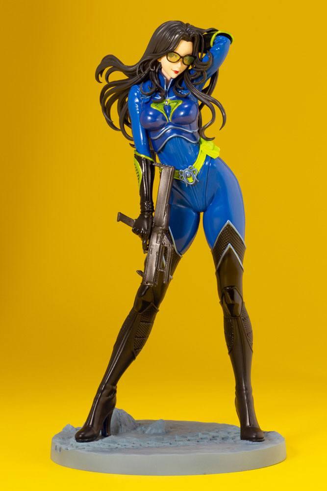 Statuette G.I. Joe Bishoujo Baroness 25th Anniversary Blue Color Ver. 23cm 1001 Figurines (2)