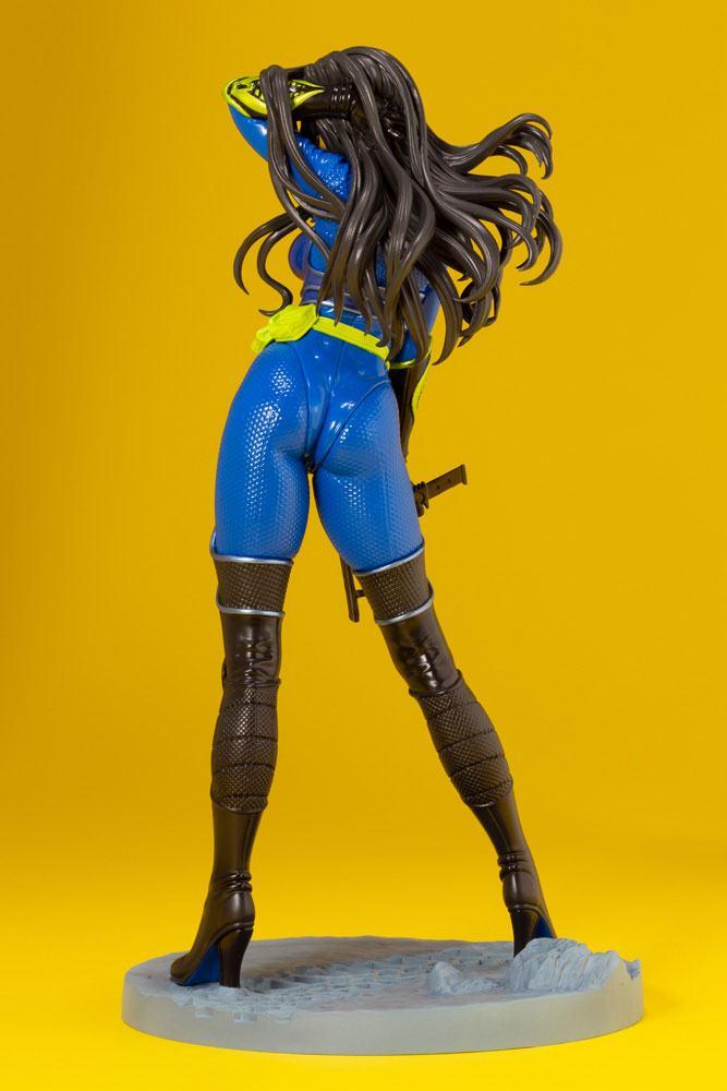 Statuette G.I. Joe Bishoujo Baroness 25th Anniversary Blue Color Ver. 23cm 1001 Figurines (6)