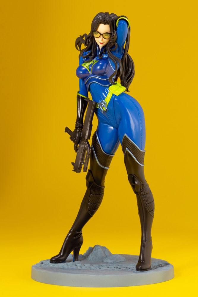 Statuette G.I. Joe Bishoujo Baroness 25th Anniversary Blue Color Ver. 23cm 1001 Figurines (8)