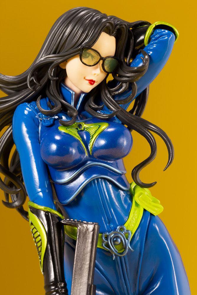Statuette G.I. Joe Bishoujo Baroness 25th Anniversary Blue Color Ver. 23cm 1001 Figurines (11)