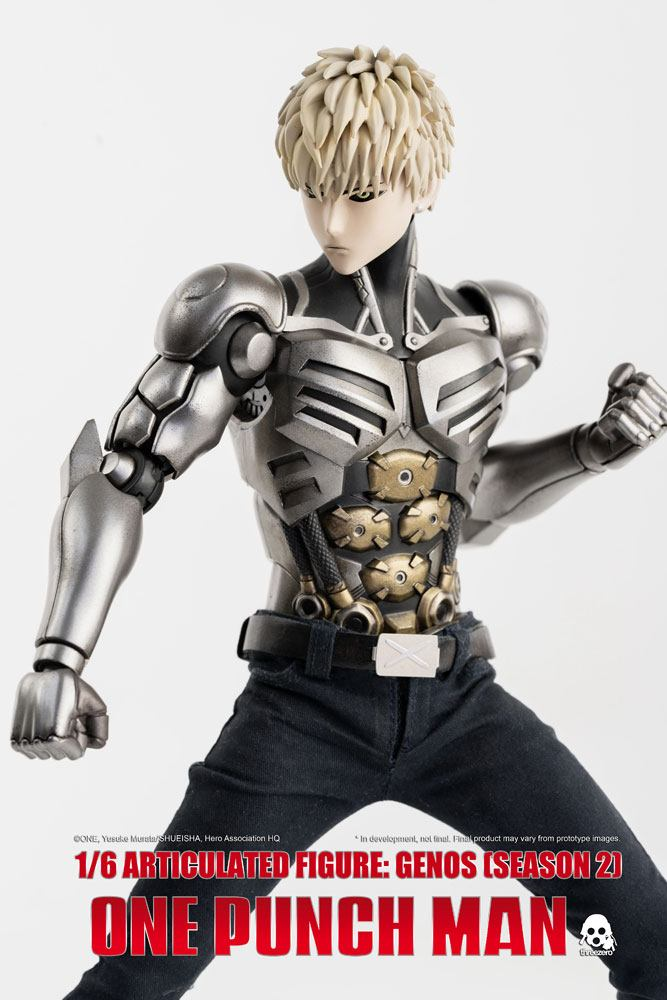 Figurine One Punch Man Season 2 Genos 30cm 1001 Figurines (6)