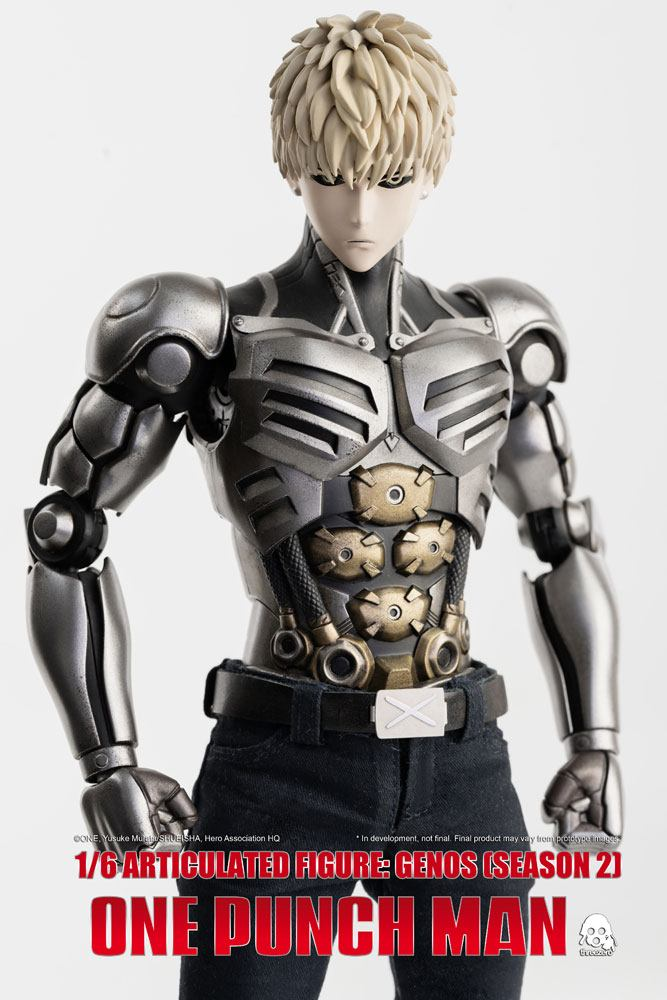 Figurine One Punch Man Season 2 Genos 30cm 1001 Figurines (7)