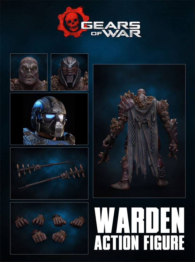 Figurine Gears of War Locust Warden 18cm 1001 Figurines (3)