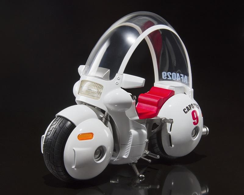 Réplique Dragon Ball S.H. Figuarts Motorcycle Bulma 17cm