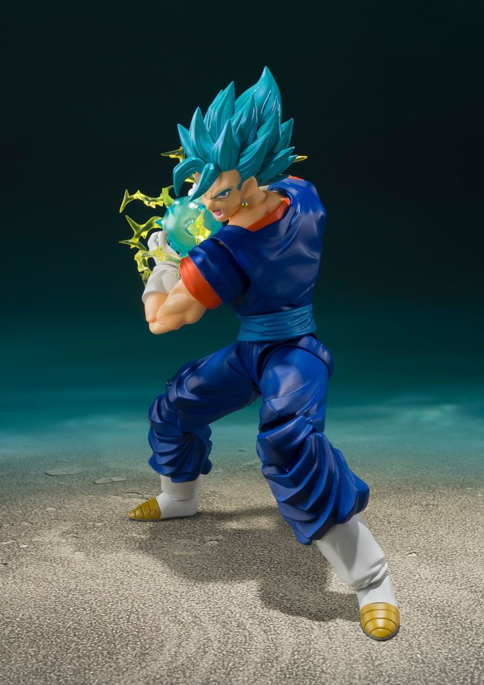 Figurine Dragon Ball Super S.H. Figuarts Super Saiyan God Super Saiyan Vegito Super 14cm